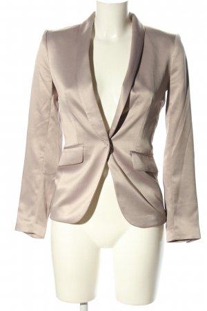 H&M Conscious Collection Long-Blazer wollweiß Casual-Look