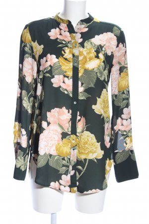 H&M Conscious Collection Long-Bluse Allover-Druck Elegant