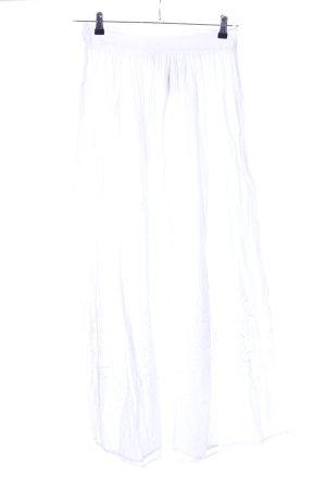H&M Conscious Collection Falda larga blanco look casual