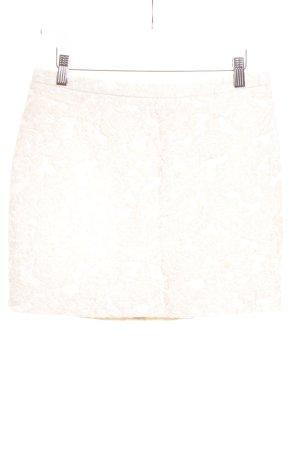 H&M Conscious Collection Minirock beige-wollweiß Elegant