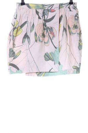 H&M Conscious Collection Minirock Blumenmuster Casual-Look