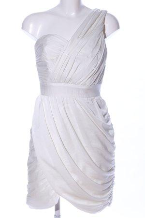 H&M Conscious Collection One-Shoulder-Kleid weiß Elegant