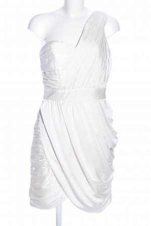 H&M Conscious Collection One Shoulder Dress white casual look