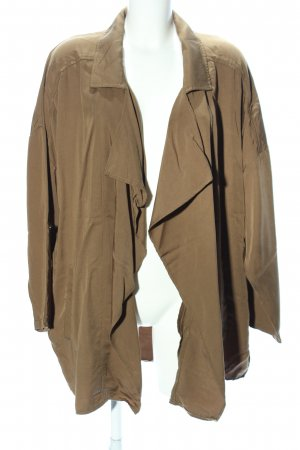 H&M Conscious Collection Oversized Jacke braun Casual-Look