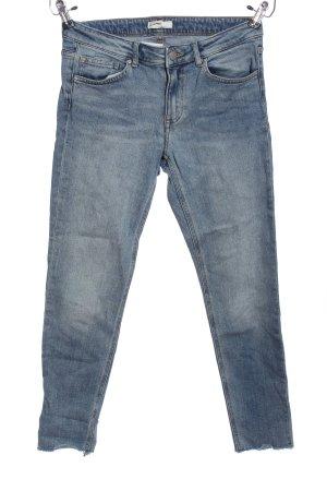 H&M Conscious Collection Röhrenjeans blau Casual-Look