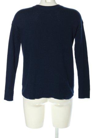 H&M Conscious Collection Rundhalspullover blau Casual-Look