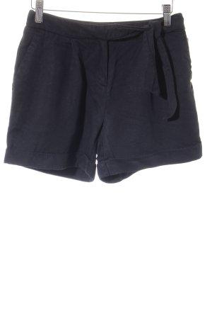 H&M Conscious Collection Shorts schwarz klassischer Stil