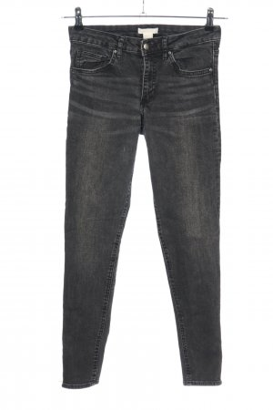 H&M Conscious Collection Skinny Jeans hellgrau Casual-Look