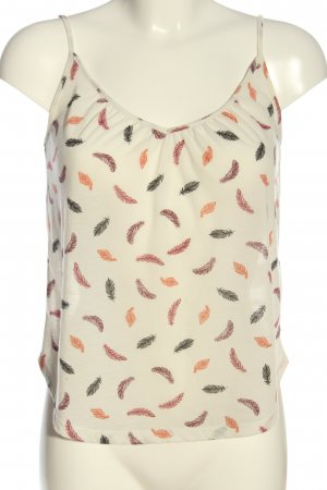 H&M Conscious Collection Spaghettiträger Top abstraktes Muster Casual-Look