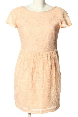H&M Conscious Collection Kanten jurk wolwit casual uitstraling