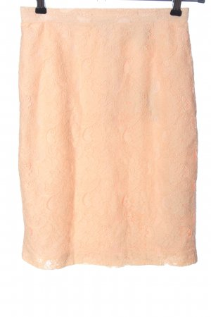 H&M Conscious Collection Spitzenrock nude Casual-Look