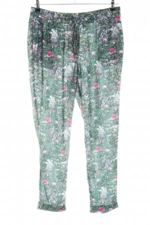 H&M Conscious Collection Stoffhose Blumenmuster Casual-Look