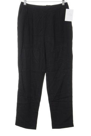 H&M Conscious Collection Stoffhose schwarz schlichter Stil