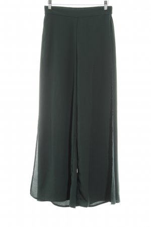 H&M Conscious Collection Stoffhose waldgrün extravaganter Stil
