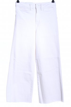 H&M Conscious Collection Straight-Leg Jeans weiß Casual-Look