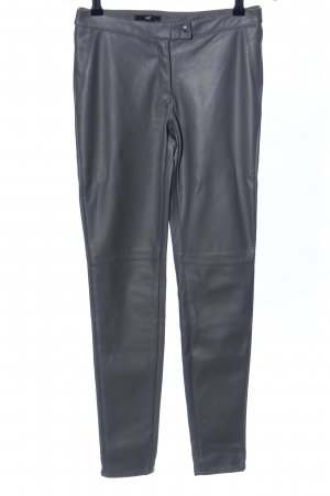H&M Conscious Collection Stretchhose hellgrau extravaganter Stil