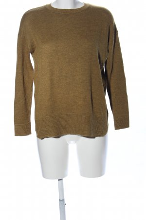 H&M Conscious Collection Strickpullover braun Casual-Look