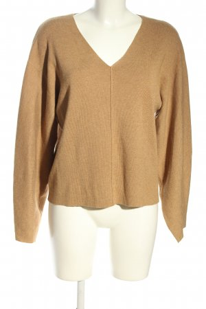 H&M Conscious Collection Strickpullover nude Casual-Look