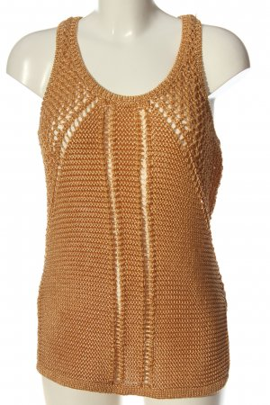 H&M Conscious Collection Knitted Top light orange casual look