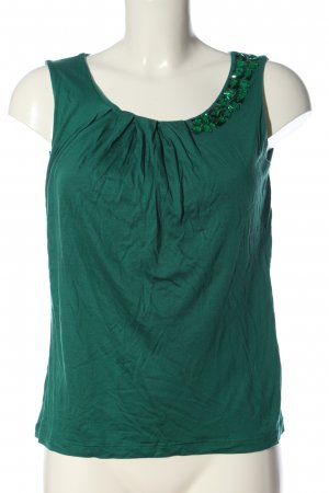 H&M Conscious Collection Camiseta sin mangas verde look casual