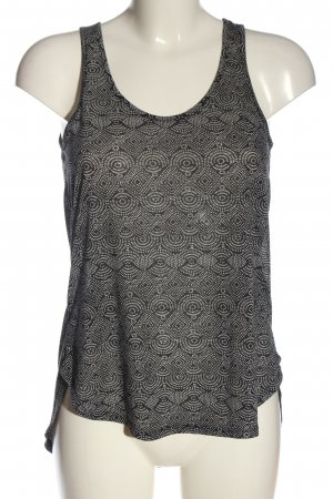 H&M Conscious Collection Camiseta sin mangas marrón-blanco look casual