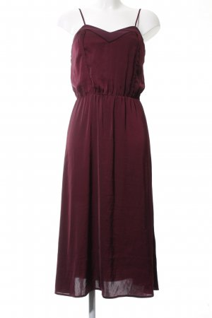 H&M Conscious Collection Trägerkleid rot Business-Look