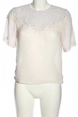 H&M Conscious Collection Transparenz-Bluse wollweiß Casual-Look