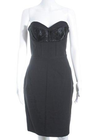 H&M Conscious Exclusive Bustierkleid schwarz Elegant