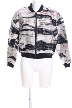 H&M Conscious Exclusive Collegejacke abstraktes Muster Casual-Look