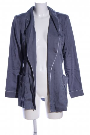 H&M Conscious Exclusive Long-Blazer blau Casual-Look