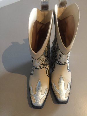 H&M Conscious Collection Western Booties multicolored