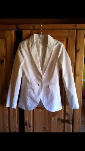 H&m conscious Kollektion Blazer weiß 34 XS Collection Jacke Business