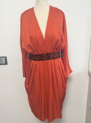 H&M Consicious Collection Kleid Gr 40 Orange