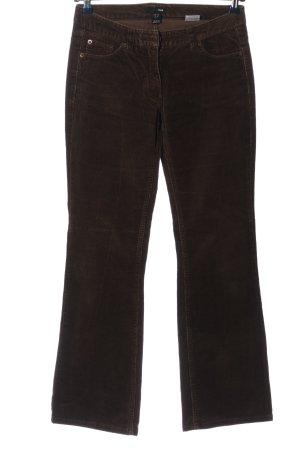 H&M Pantalone di velluto a coste bronzo stile casual