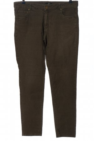 H&M Corduroy Trousers brown casual look