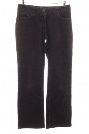 H&M Corduroy broek bruin casual uitstraling