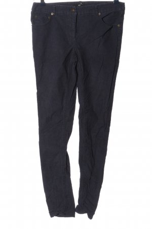 H&M Pantalón de pana azul look casual