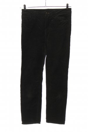 H&M Corduroy Trousers black casual look