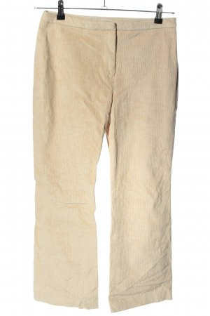 H&M Corduroy Trousers cream casual look
