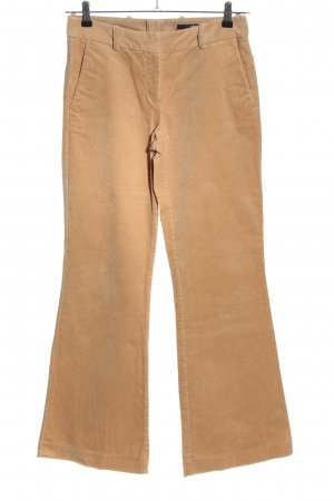 H&M Corduroy Trousers nude casual look