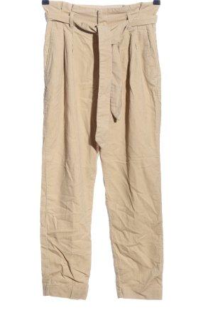 H&M Corduroy broek nude casual uitstraling