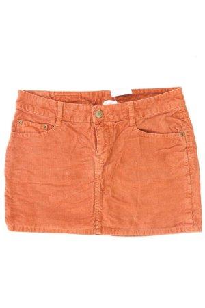 H&M Cordrock Größe 38 orange