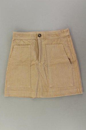 H&M Cordrock Größe 42 Vintage braun aus Baumwolle