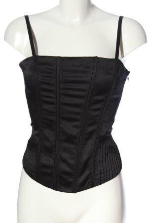 H&M Haut type corsage noir style décontracté