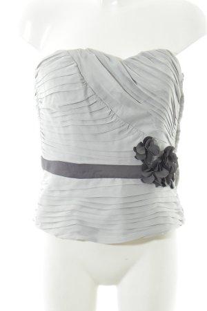 H&M Corpiño gris claro-gris oscuro elegante