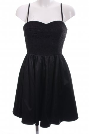 H&M Corsagejurk zwart elegant