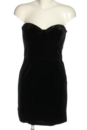 H&M Corsagenkleid schwarz Casual-Look
