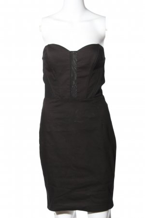H&M Sukienka z gorsetem czarny W stylu casual
