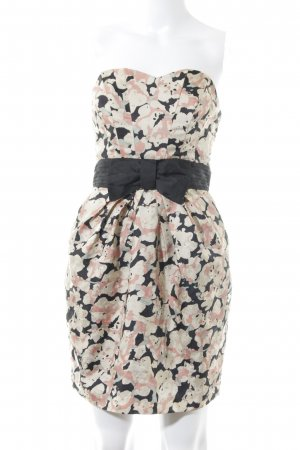 H&M Corsage Dress multicolored extravagant style