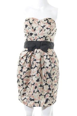 H&M Corsagenkleid mehrfarbig extravaganter Stil